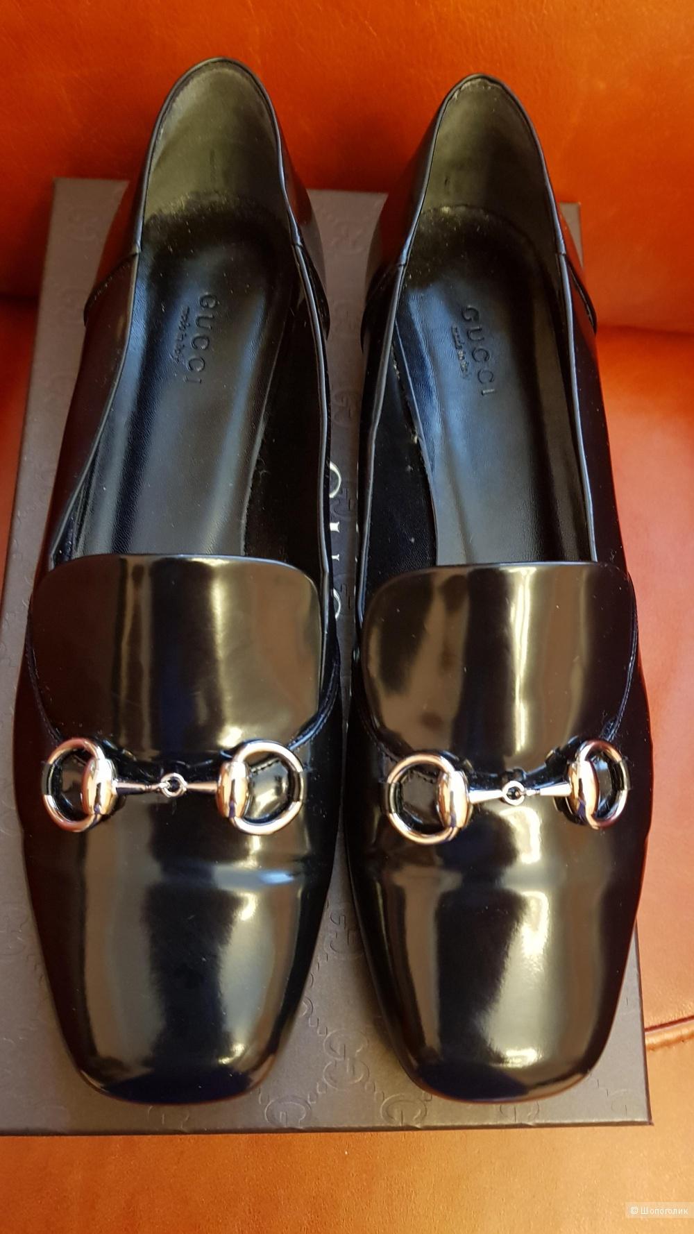 Туфли, Gucci , 39,5 диз. размер