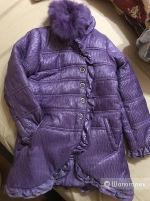 Демисезонная курточка на девочку 8 лет фирмы Fun&fun