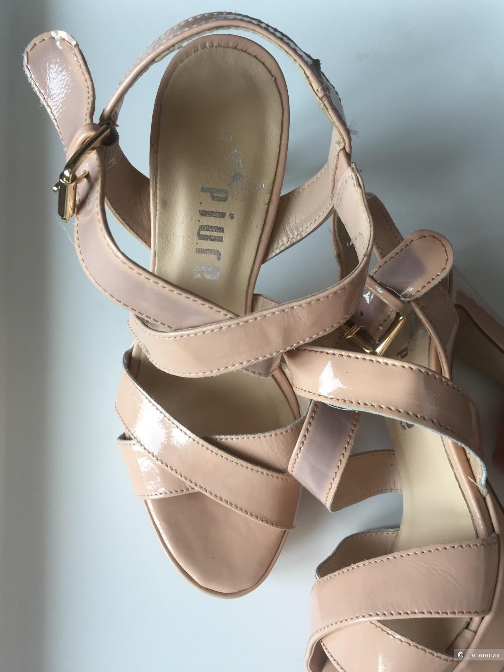 Туфли-босоножки piure 38-39