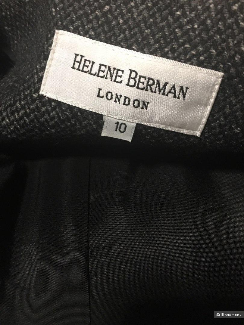 Пальто колорблок Helene Berman UK10