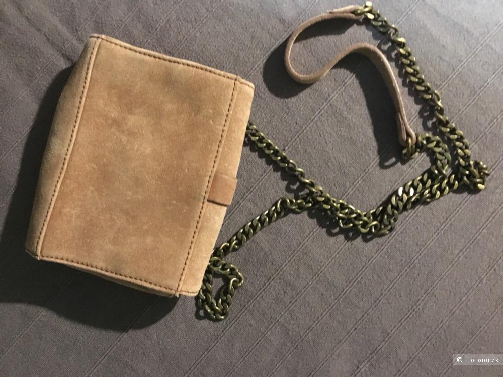 Замшевая сумочка Zara