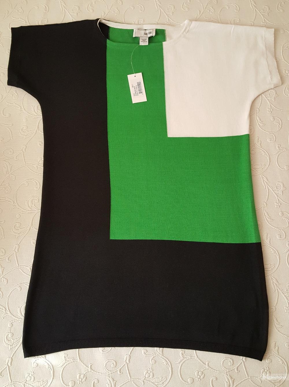 Объемное платье Joan Vass р. 2 (на 46-50 рос.)