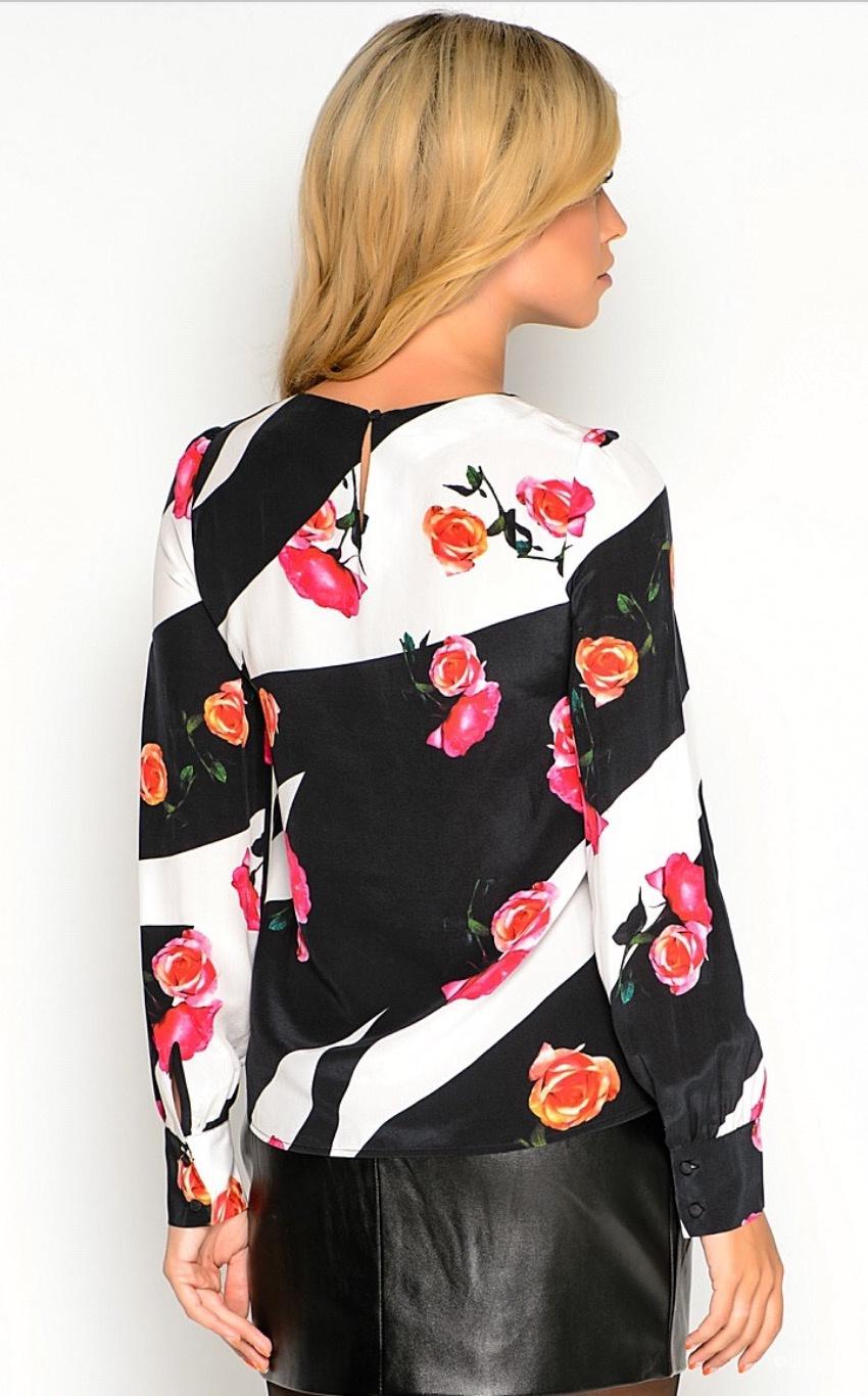 Шёлковая блуза Love Republic, размер 42