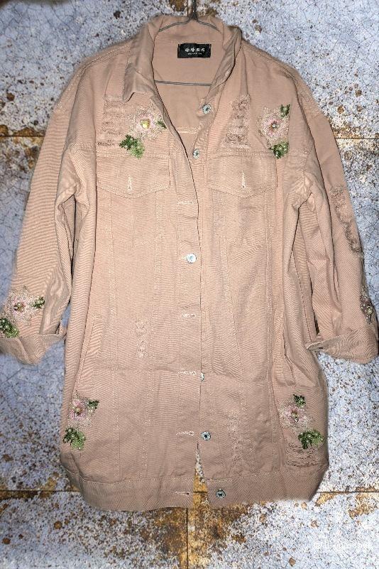 Куртка джинсовая, DIOR, реплика, oversize