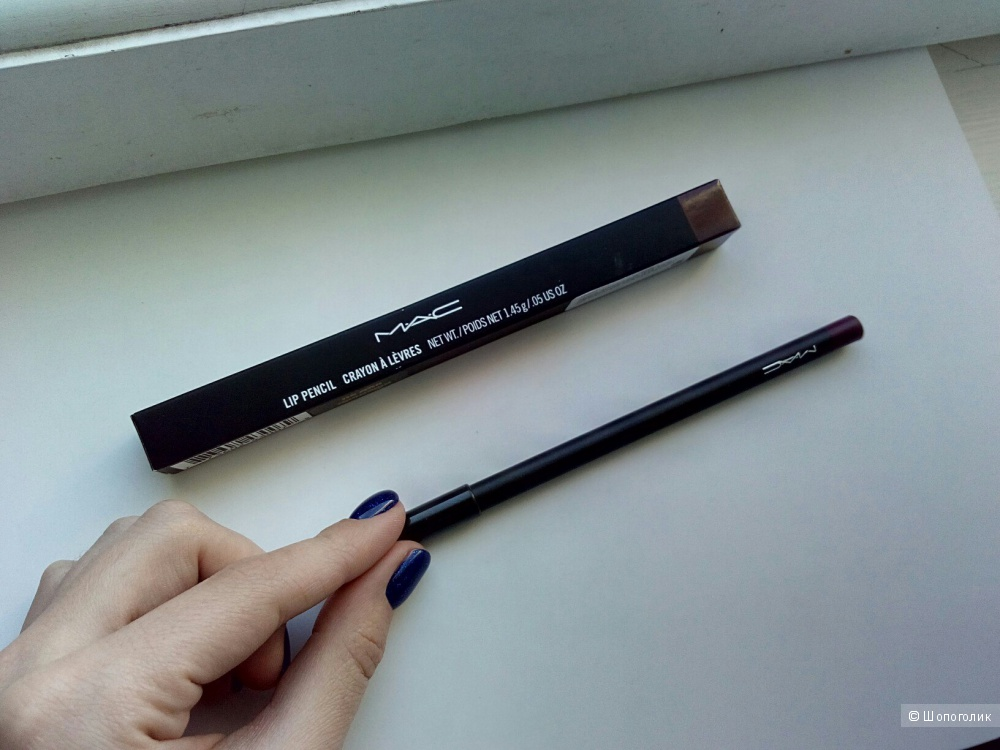 Карандаш для губ MAC lip pencil crayon a levres оттенок vino