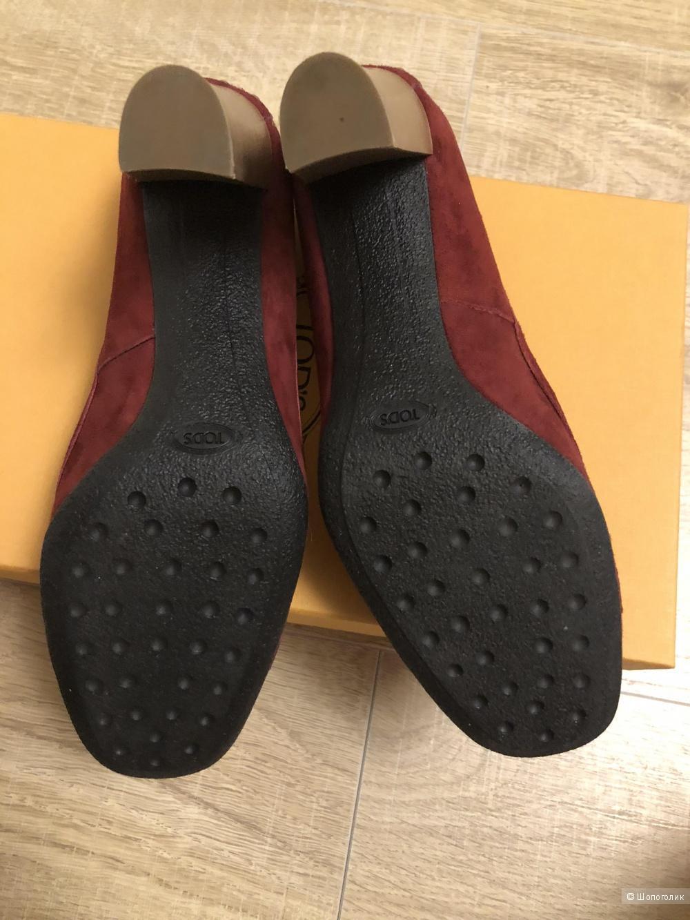 Туфли Tod's размер 38,5.
