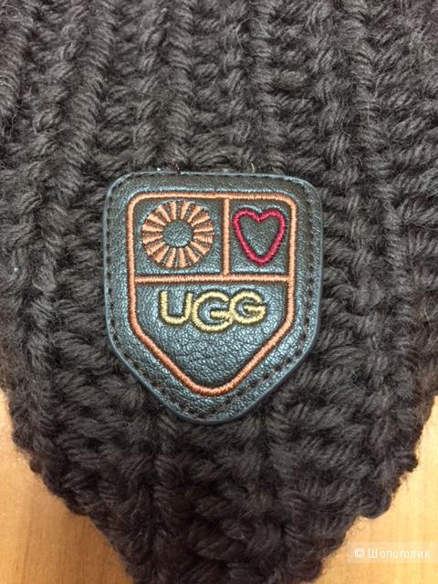Шапка UGG® Aviator Bobble Womens Knitted Hat