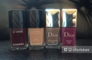 Лаки Dior, Chanel