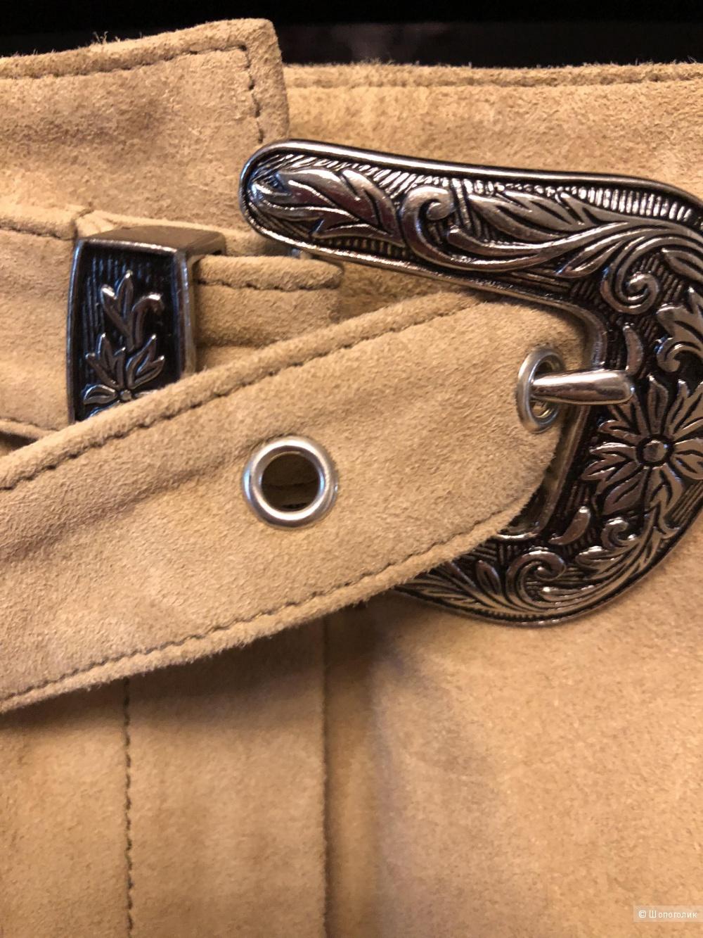 Замшевые шорты Maje. Размер 36(42)