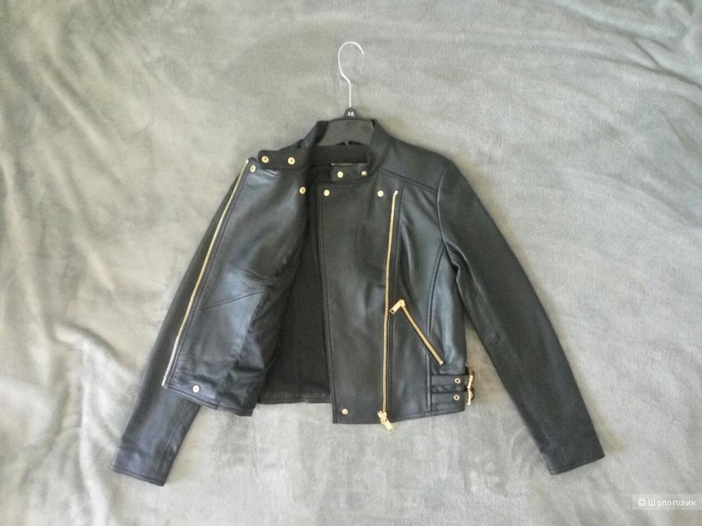 Кожаная куртка MICHAEL MICHAEL KORS xs