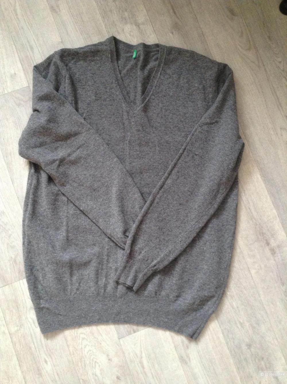 Пуловер Benetton, размер XXL (54-56)