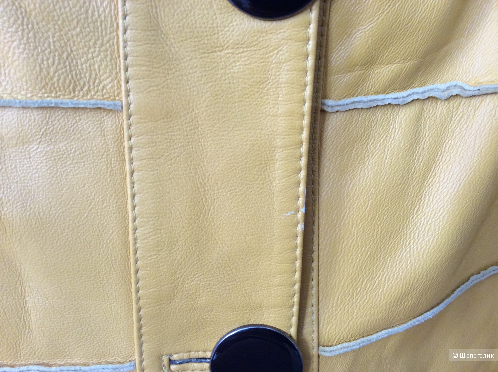 Кожаная куртка ORSA р.42 (на 44-46)