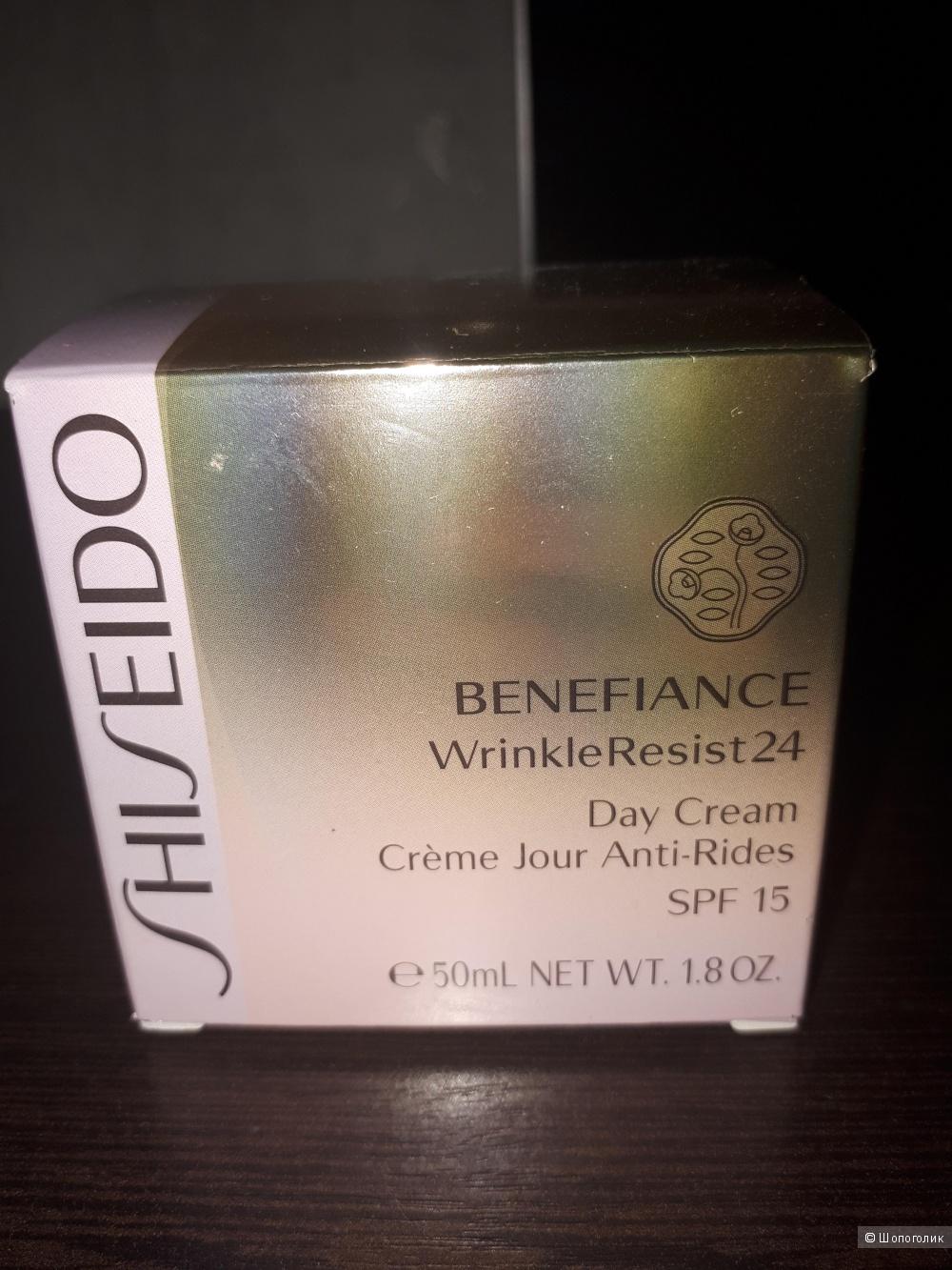 SHISEIDOBenefiance WrinkleResist 24 Дневной крем