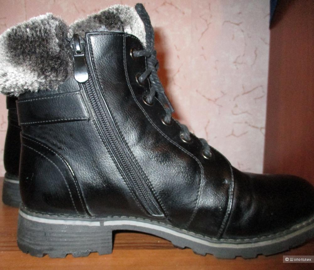 Ботинки кожаные TopLand 38 размер