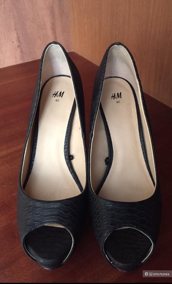 Туфли h&m, размер 40