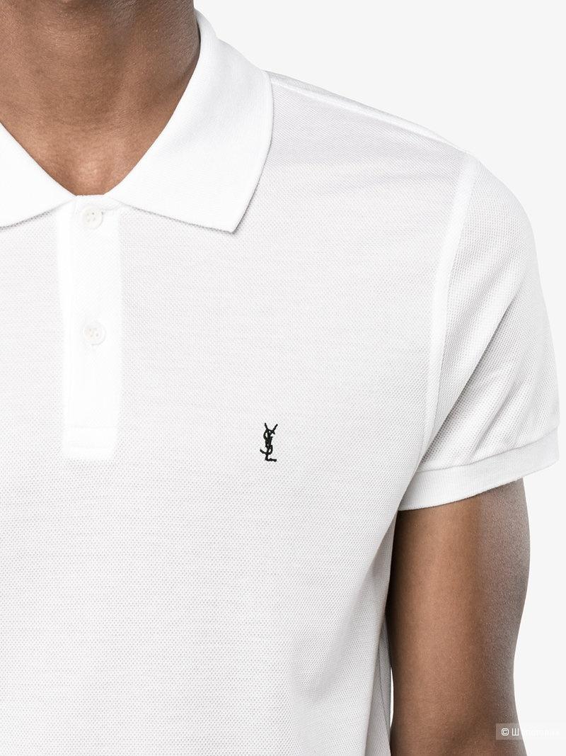 Рубашка Polo logo YSL,размер XL