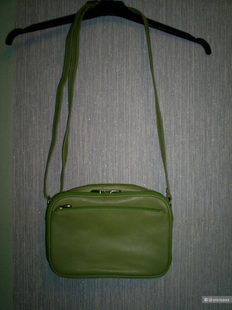 Кожаная сумка кросс-боди от Nova Leather.