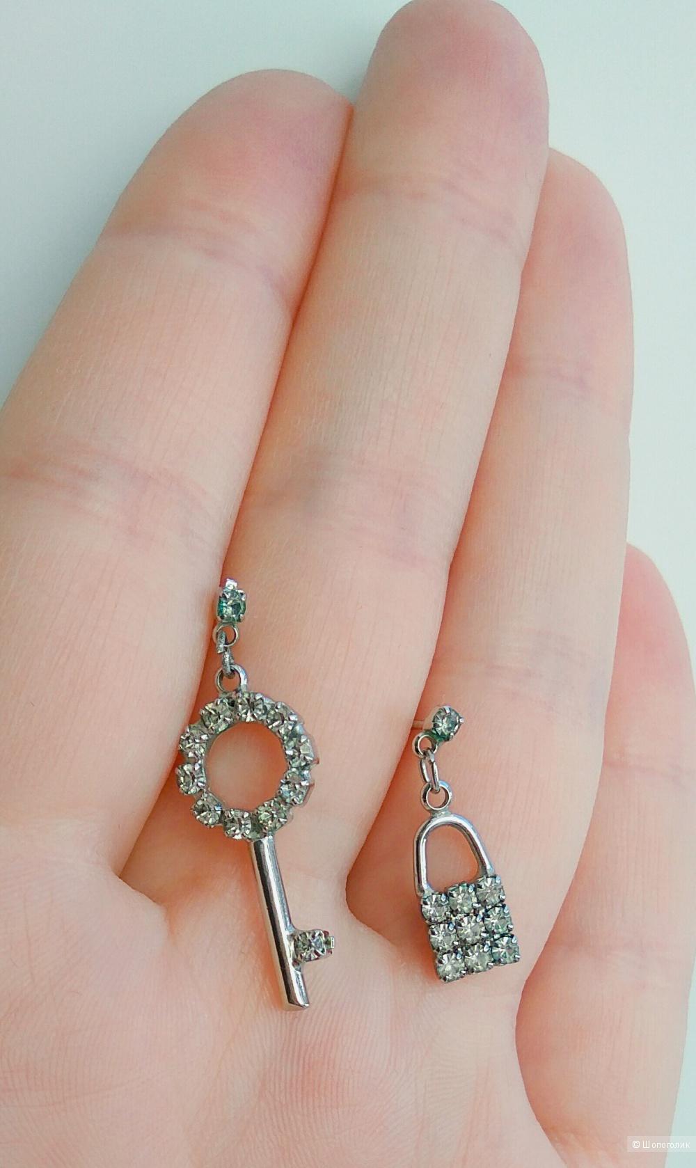 Сет из 2 пар сережек в стиле Tiffany&Co
