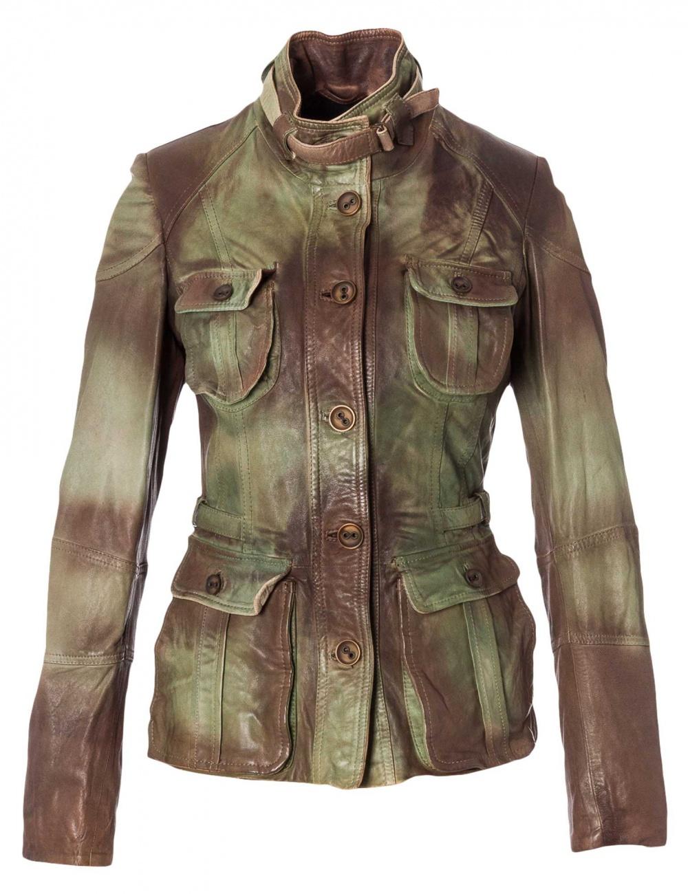 Кожаная куртка ELEVEN ELFS by MANUEL LUCIANO размер S