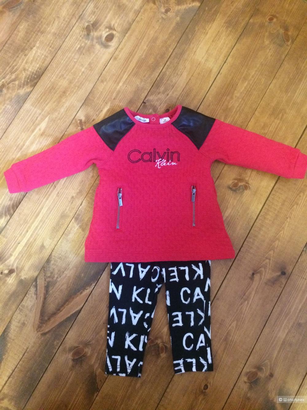 Костюм на девочку Calvin Klein,  размер 12 месяцев