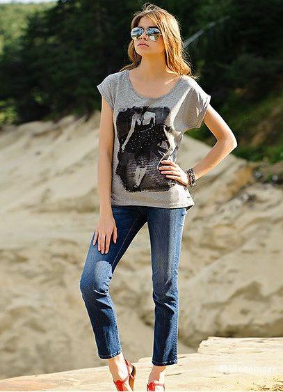 Джинсовые капри бренда Eastern Camel, размер 50-52