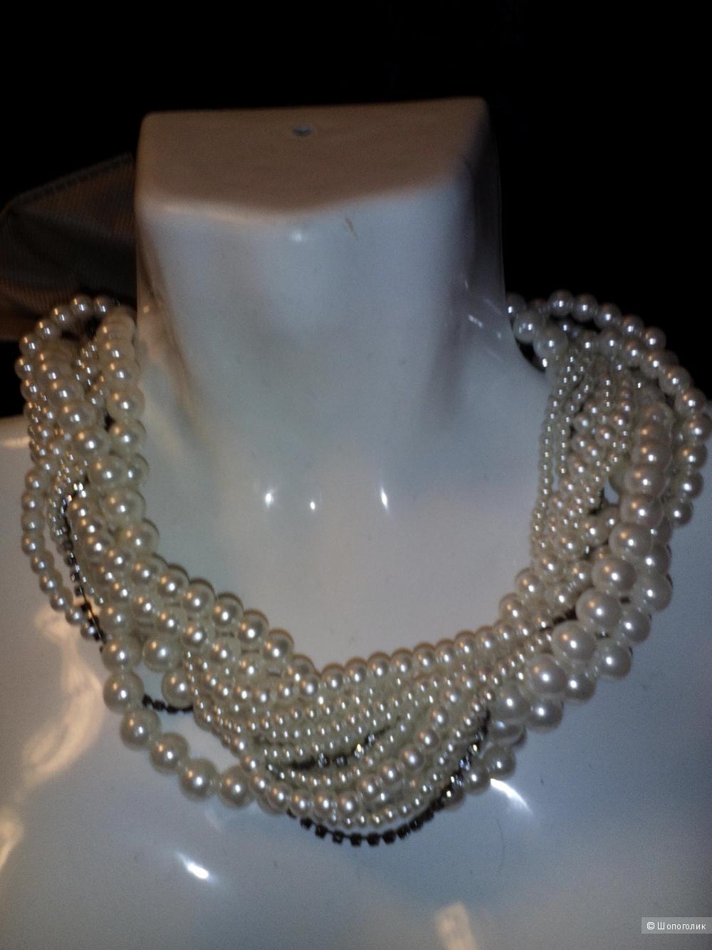 Ожерелье иск.жемчуг wilphen, one size