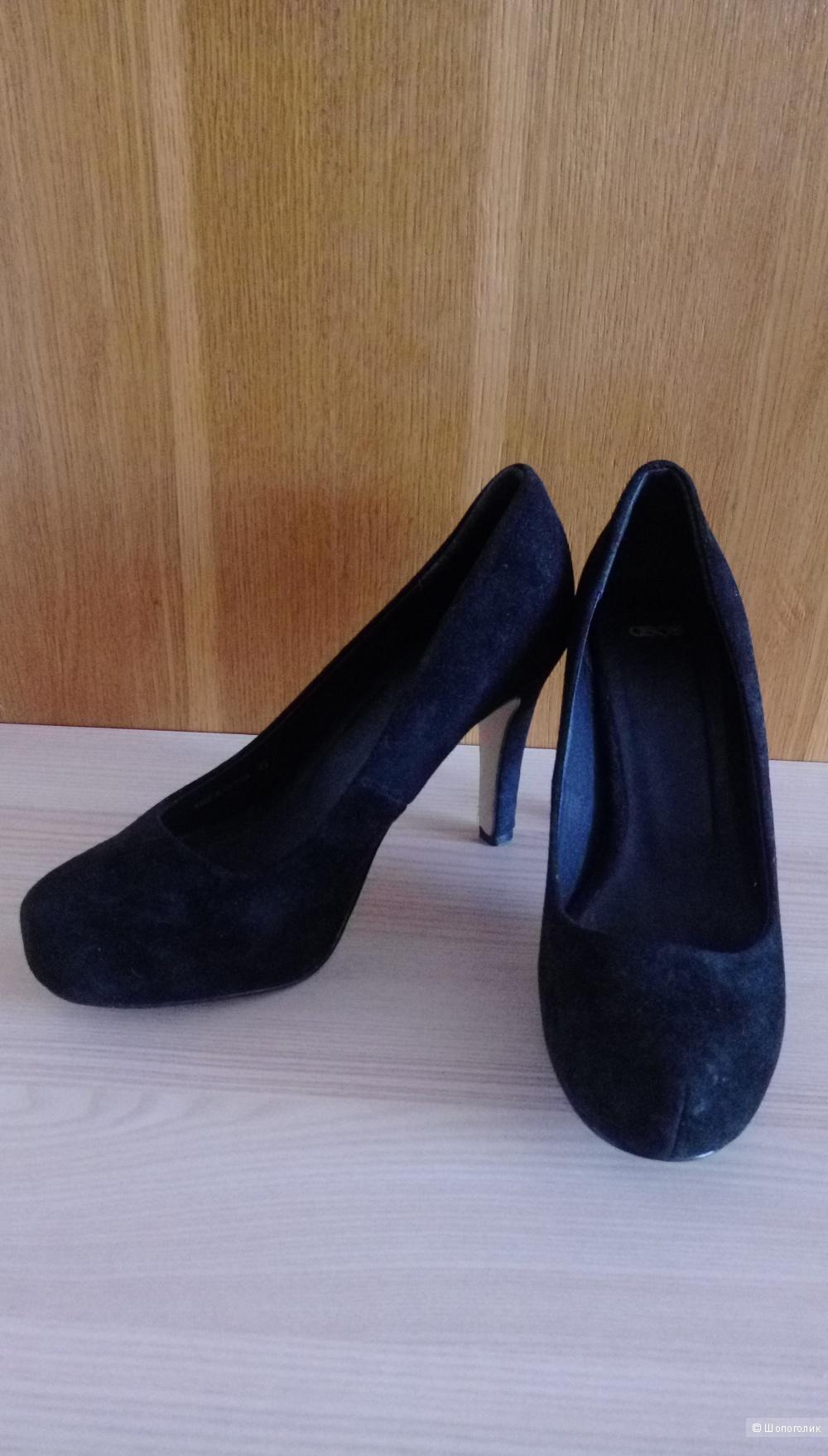 Туфли ASOS, чёрные, размер UK6