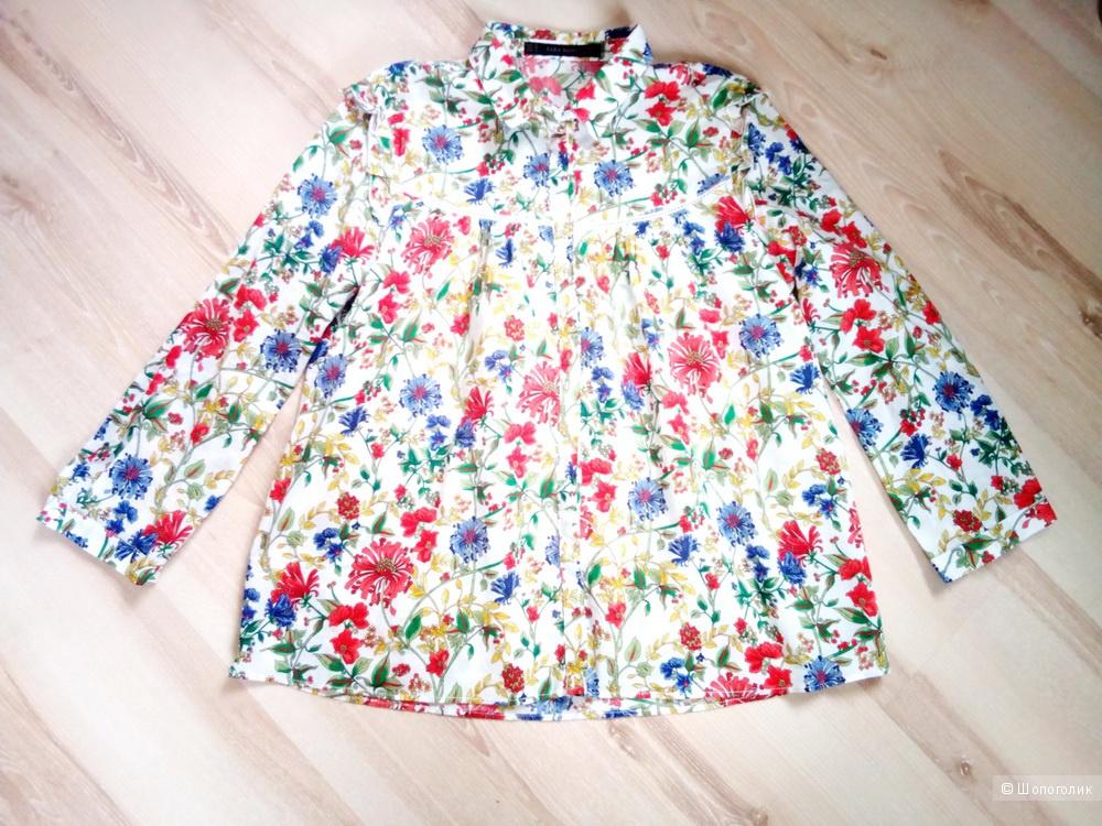 Рубашка блузка Zara 44-46 размер