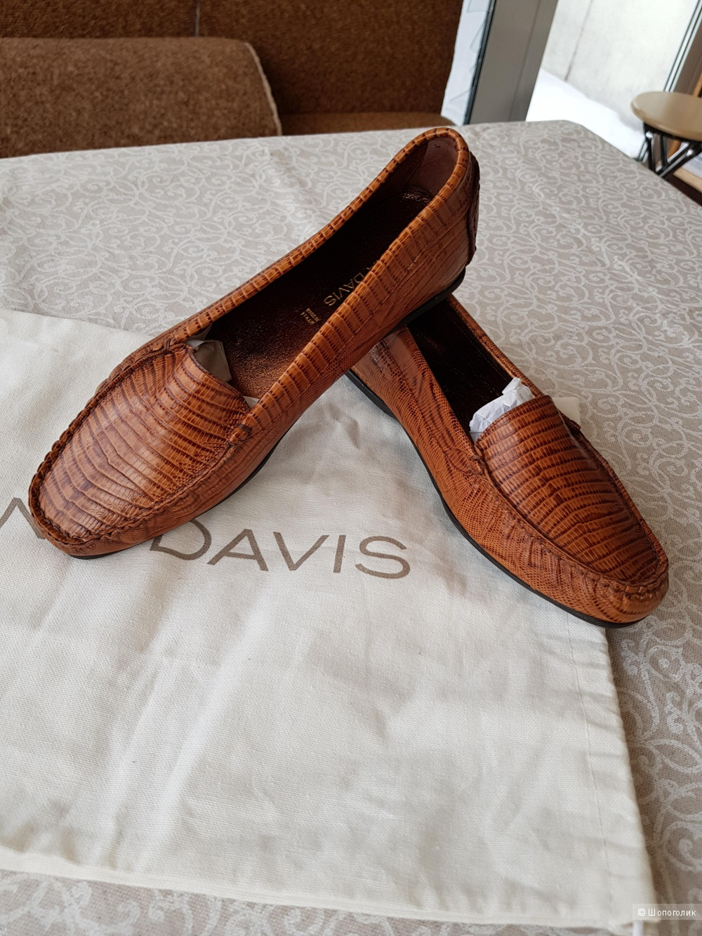 Мокасины Dana Davis, размер 39/40