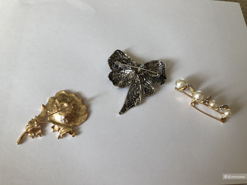 Комплект брошей Fashion Jewelry