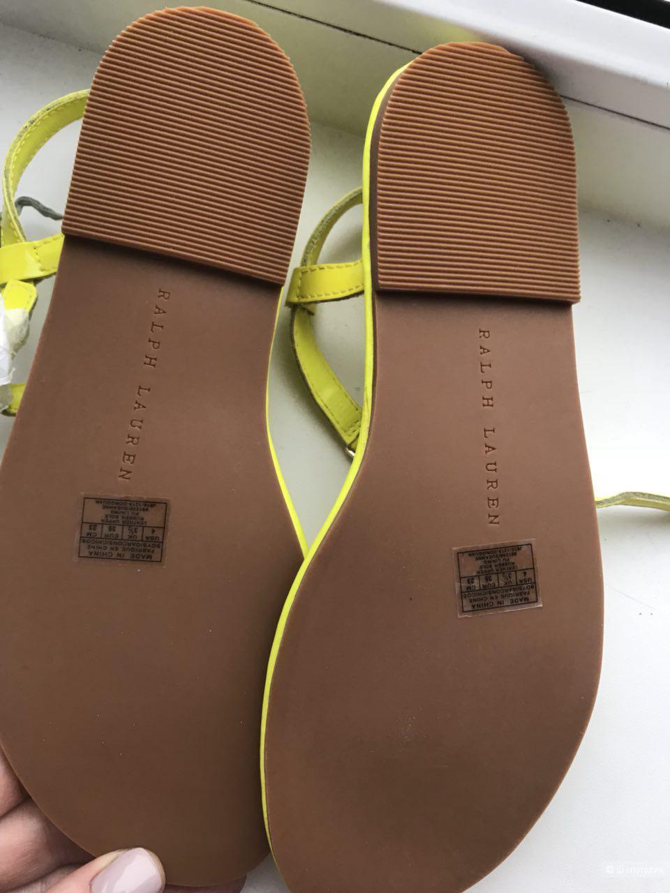 Сандалии  женские Ralph Lauren, размер 35-36