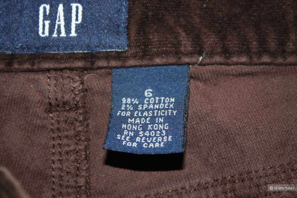 Велюровые  брюки бренда GAP, размер 48-50-52