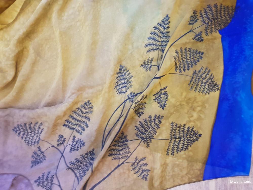 Палантин-батик, размер 245 см * 75 см