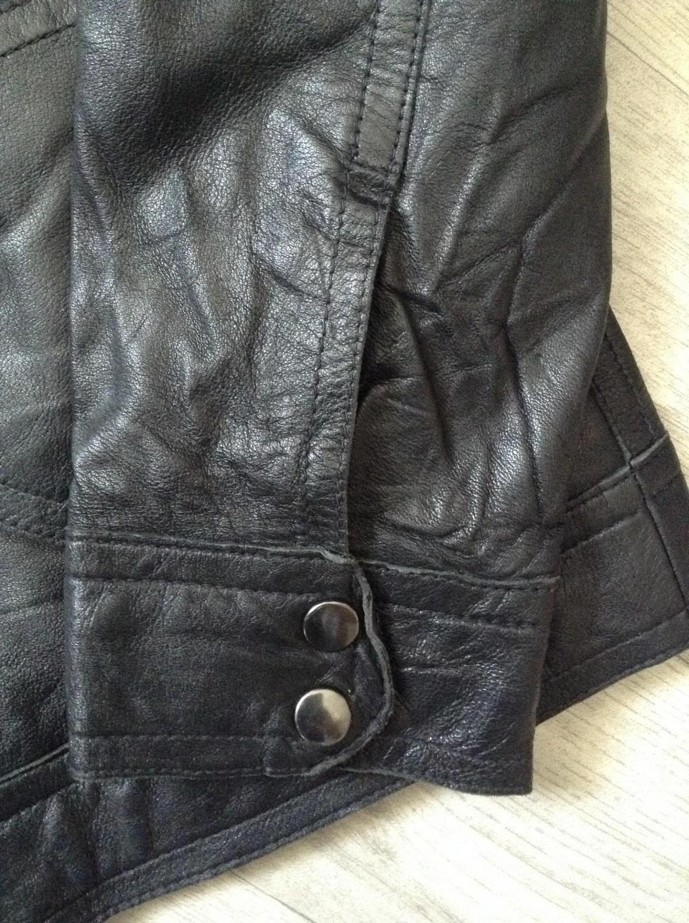 Кожаная куртка no name, размер 46-48