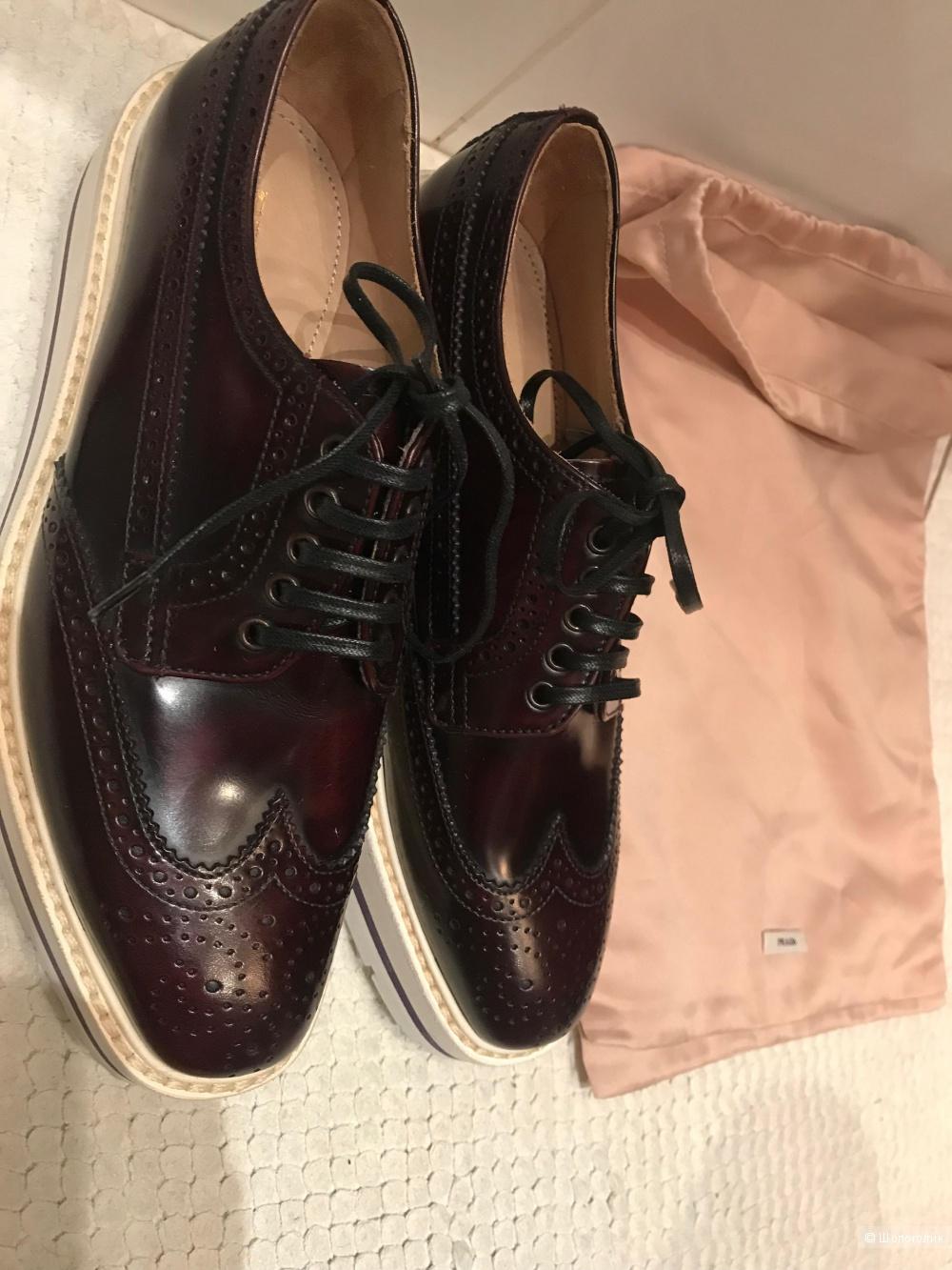 Ботинки Prada 35,5-36 р.