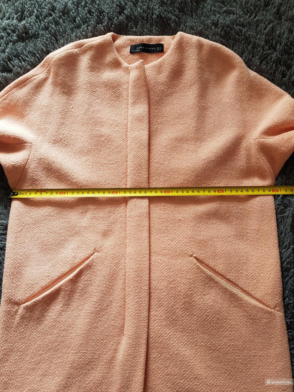 Легкое пальто ZARA WOMAN размер XS