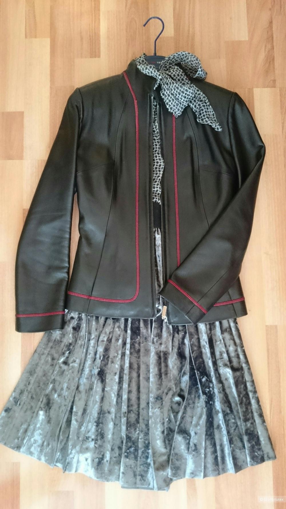 Кожаная куртка Fabiani,  размер S