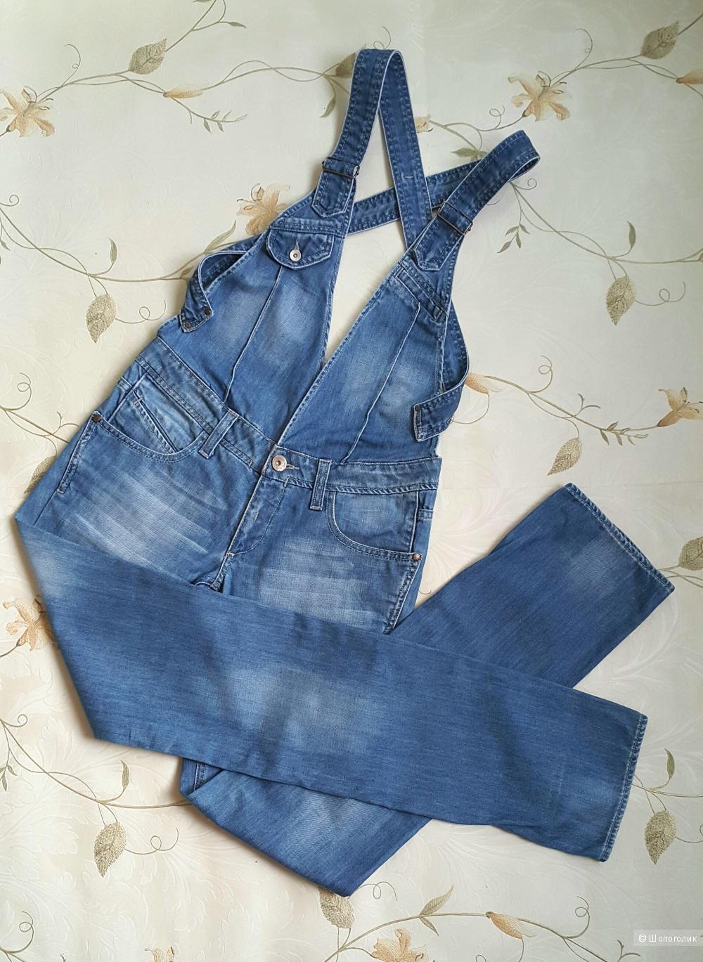 Джинсовый комбинезон Fashion Point Jeans размер L