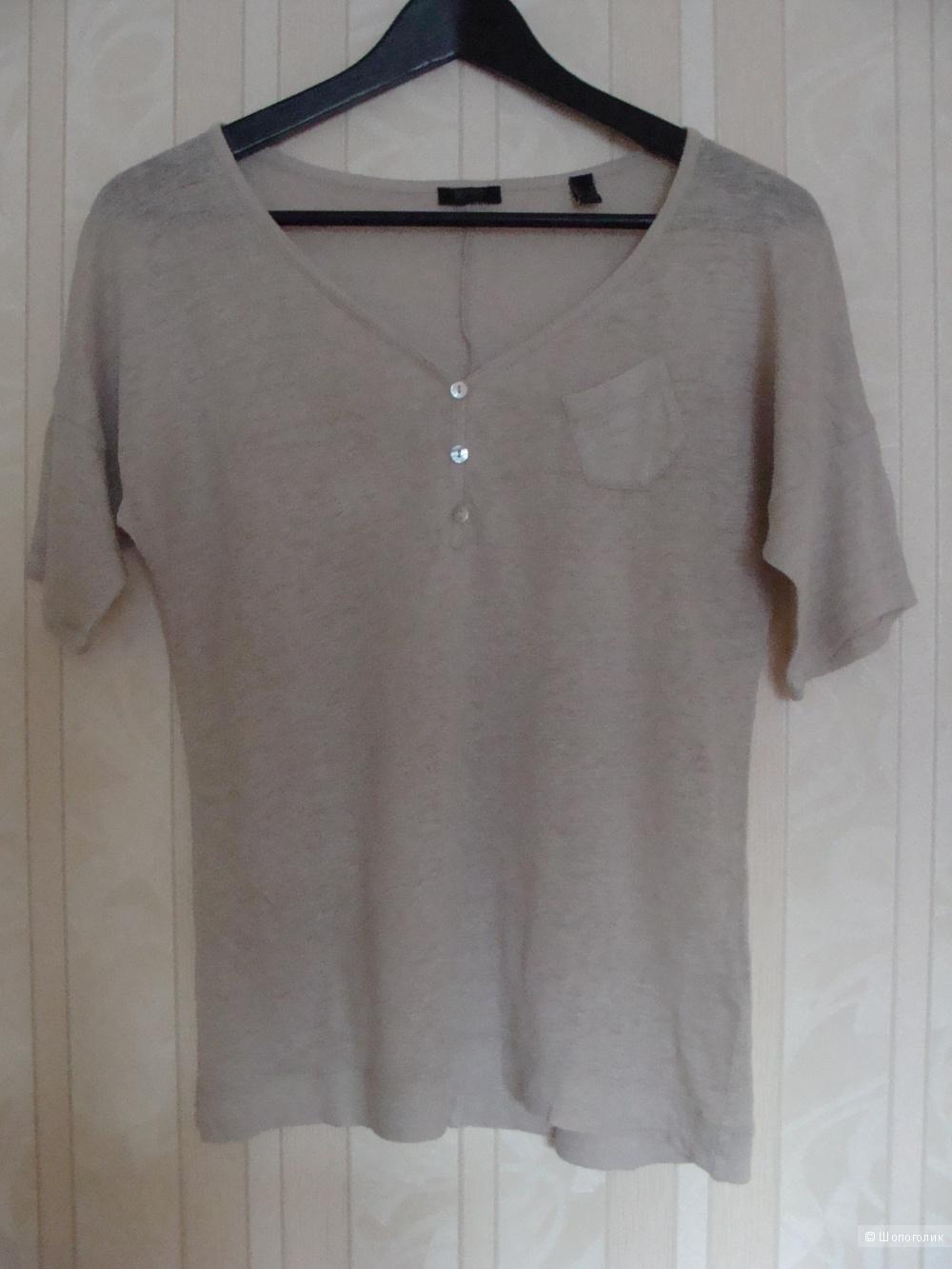 Льняная футболка Esprit размер XS-S