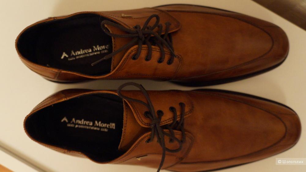 Мужские полуботинки Andrea Morelli 45 размер