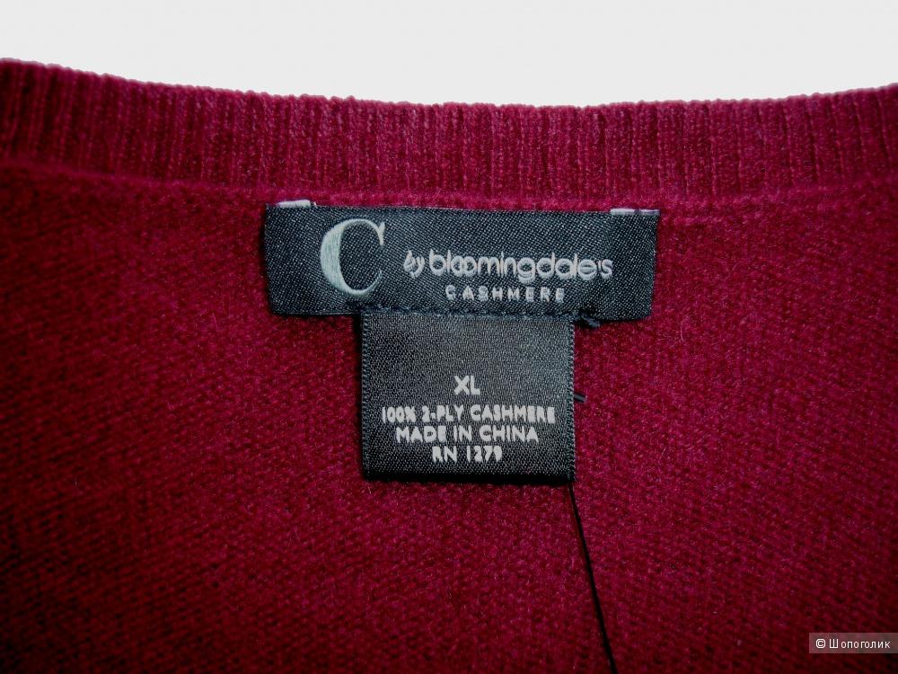 Кашемировый джемпер C by Bloomingdale's, размер XL