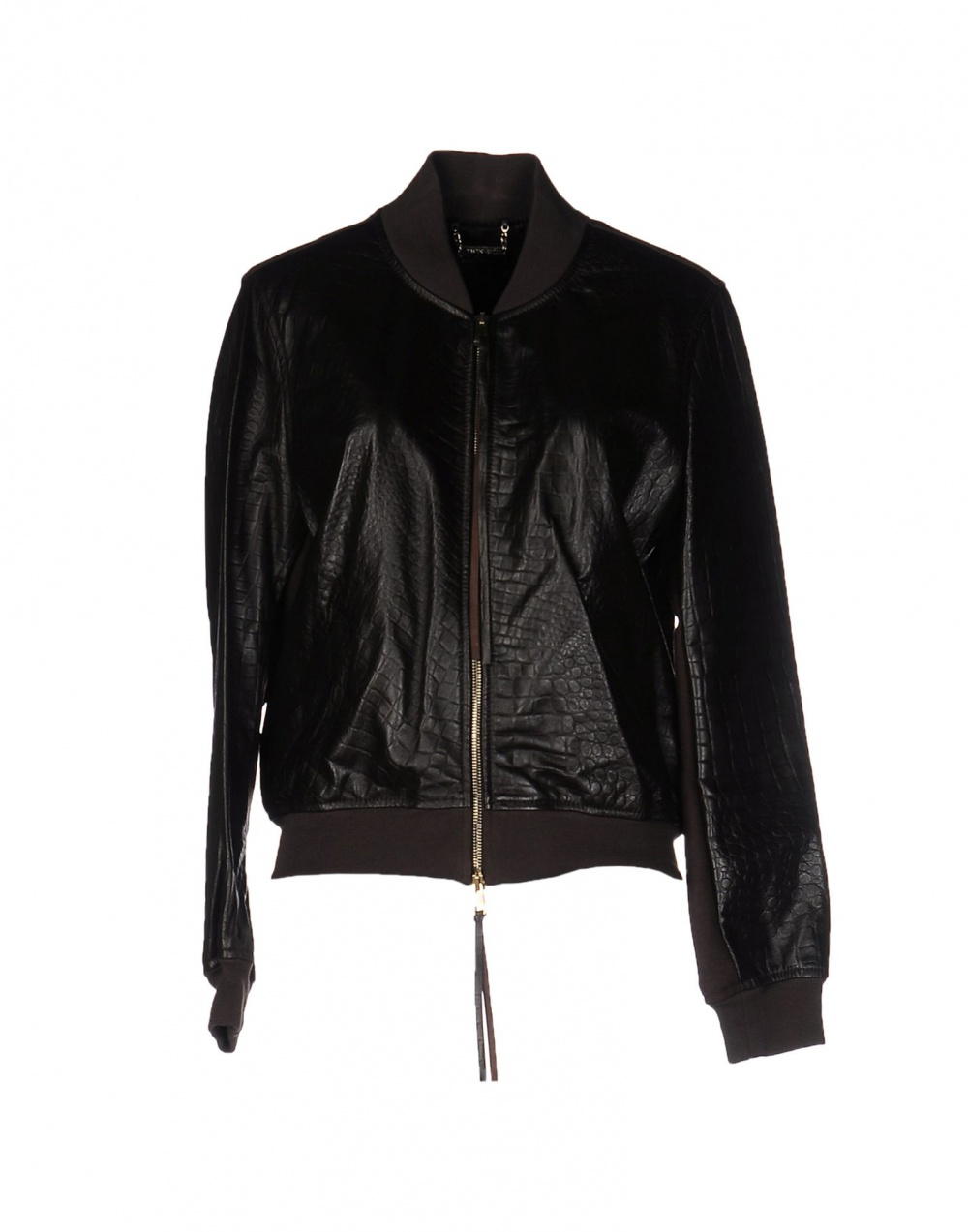 Кожаная куртка TWIN-SET SIMONA BARBIERI размер М