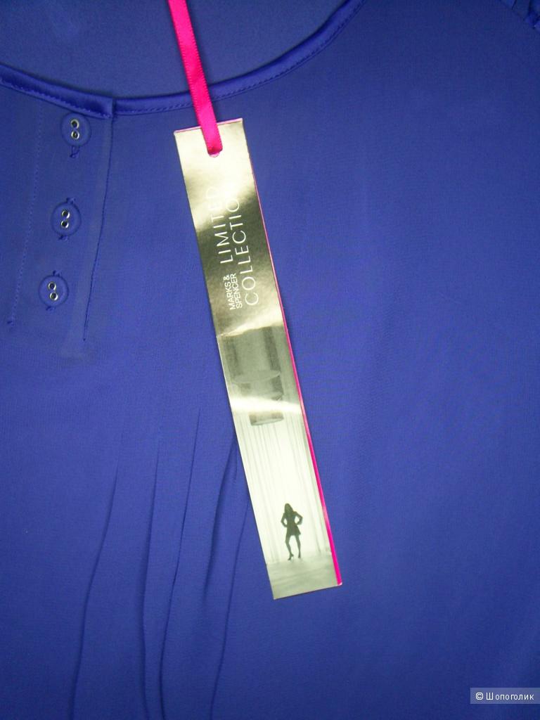 Шифоновая блузка от Marks & Spencer р 8 евр. на 42-44 рус.