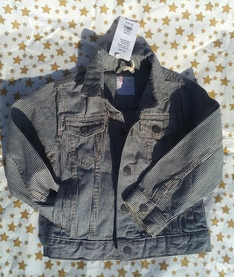 Куртка джинсовая 5 лет.Dpam.
