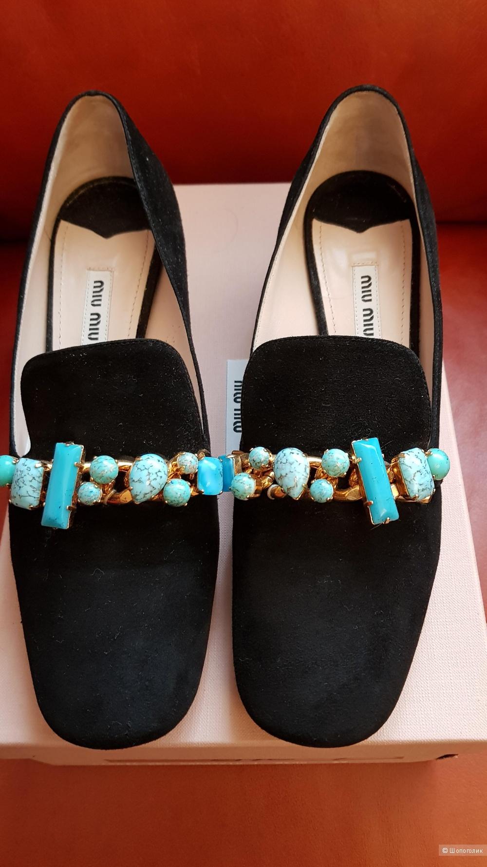 Туфли , Miu Miu  , 39 ит. размер