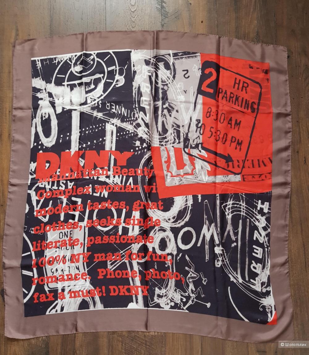 Платок DKNY, 100*96 см