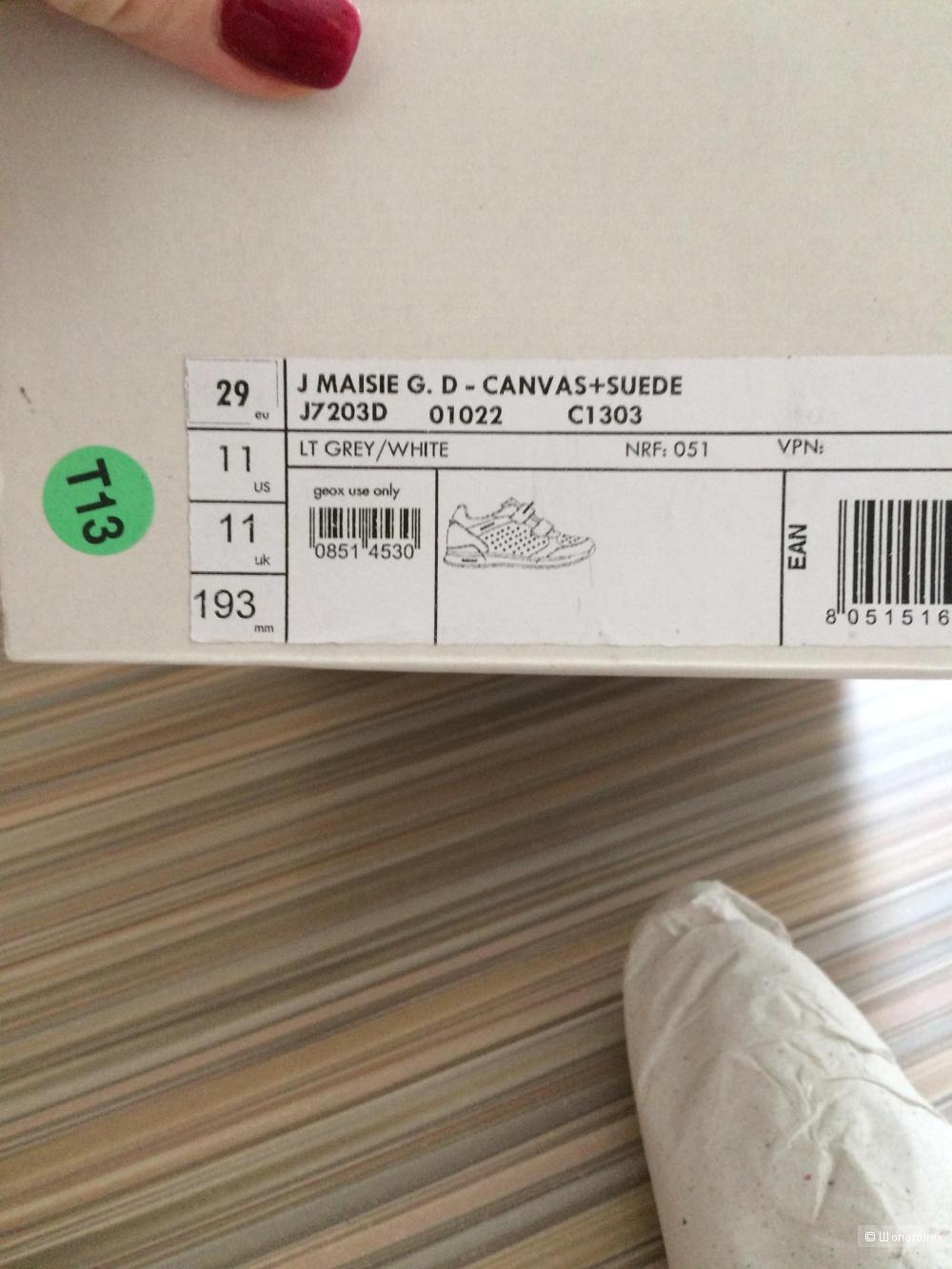 Кроссовки Geox, 29 размер , Италия