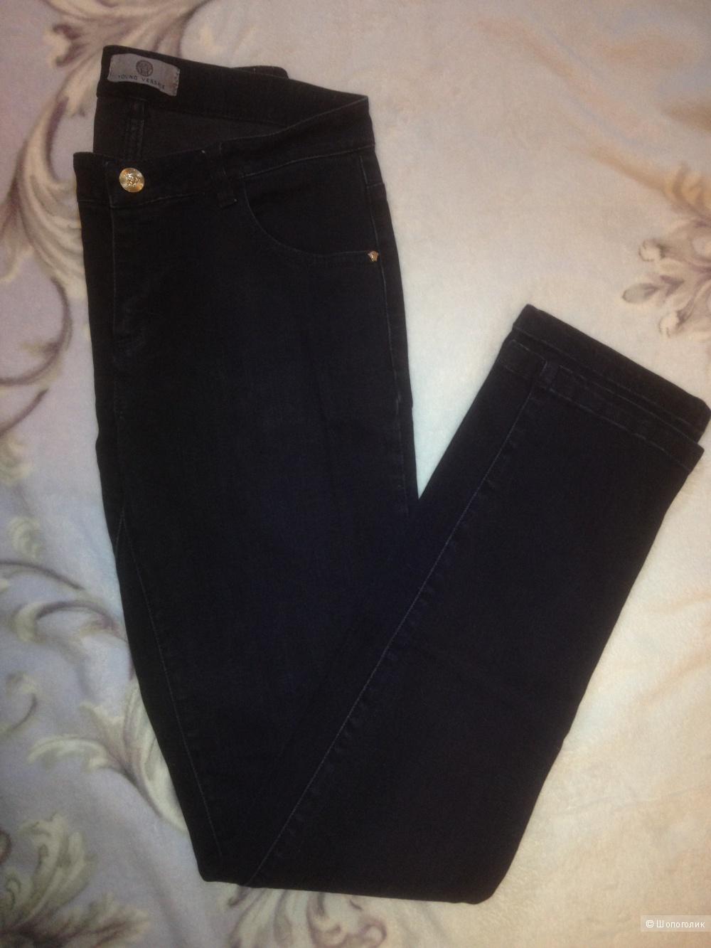 Джинсовые брюки VERSACE YOUNG, размер 15 Y