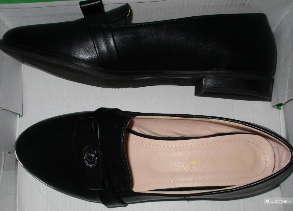 Туфли кожаные Котофей 37.5-38 размер
