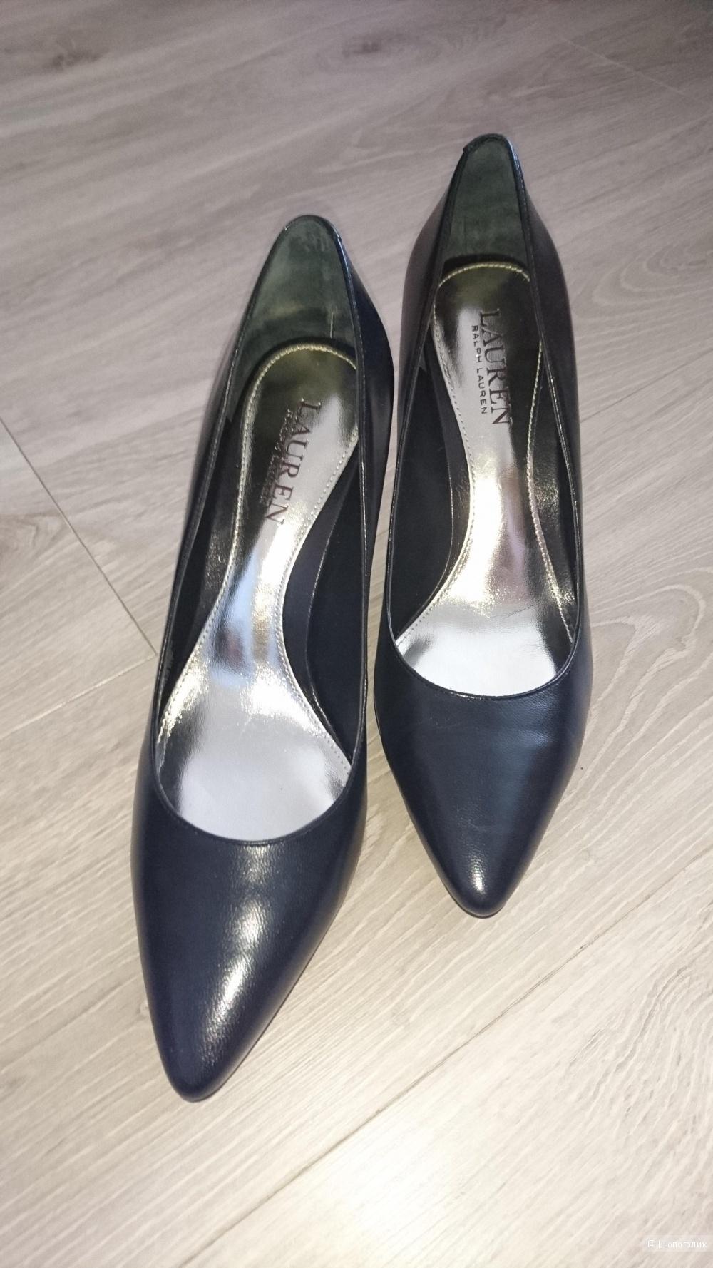 Кожаные туфли ralf Lauren,  размер 38-39